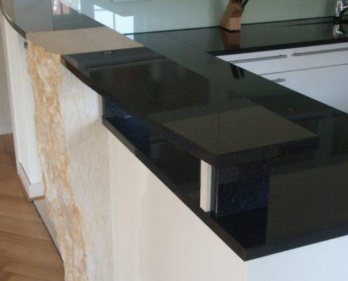 Granit arbeitsplatte günstig  Granit Arbeitsplatten - Natursteindesign Rompf