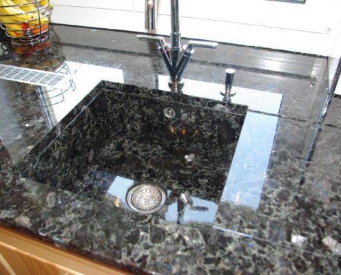 Granit Arbeitsplatten - Natursteindesign Rompf