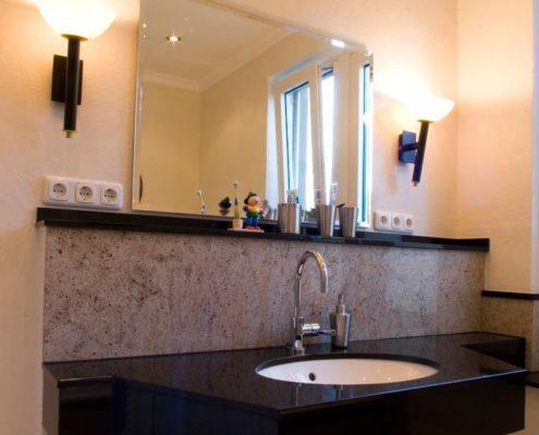Waschtisch Granit schöne granit waschtische natursteindesign rompf
