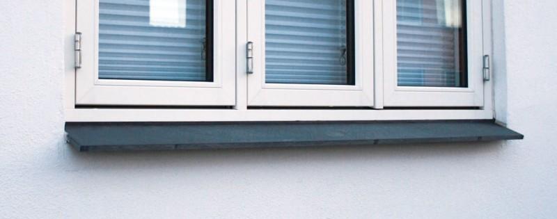 Fensterbank außen granit  Fensterbänke - Natursteindesign Rompf
