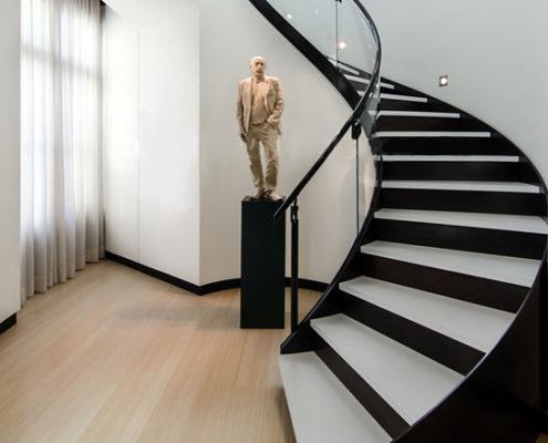 Treppe aus Caesarstone