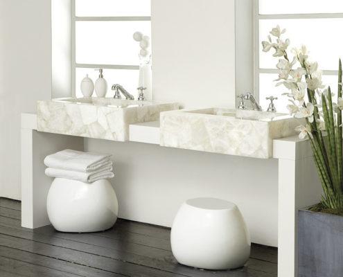 Waschbecken aus Caesarstone
