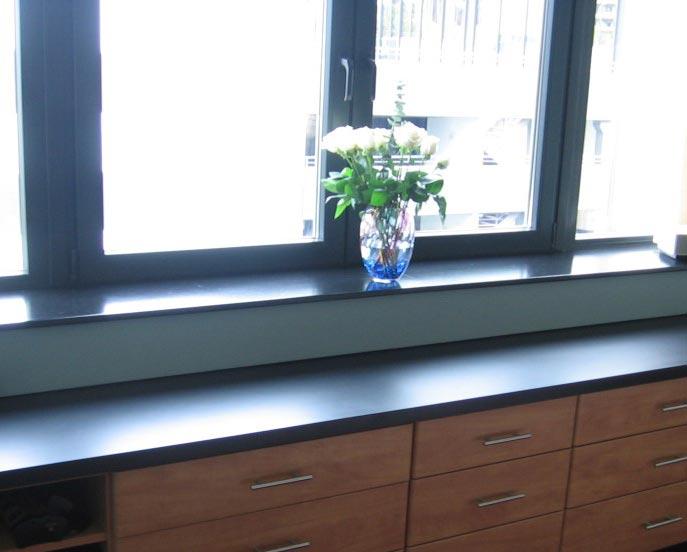 Schöne Granit Fensterbänke - kurze Lieferzeit - Natursteindesign Rompf