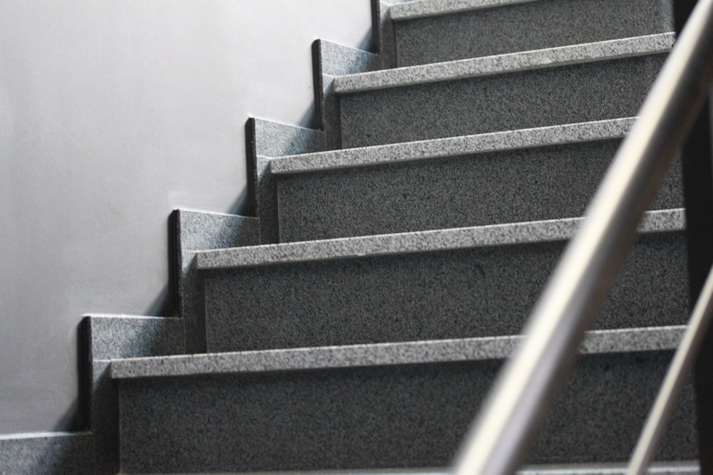 Berühmt Granit Treppen mit schönen Natursteinen - Natursteindesign Rompf NZ45
