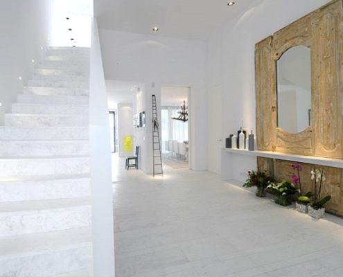 Treppe aus Marmor