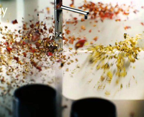 Küchenarbeitsplatte aus Silestone
