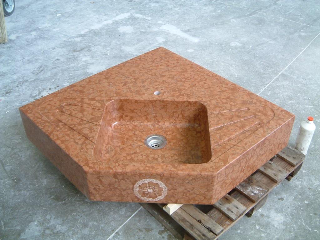 Küchenarbeitsplatte Granit - Rosso Verona - Natursteindesign Rompf