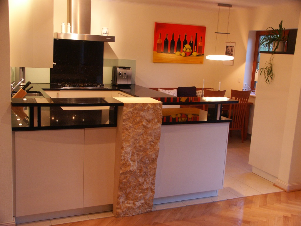 Küche aus Granit