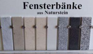 Granit Fensterbänke Göttingen