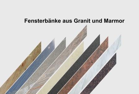 Granit Fensterbänke Göttingen - Nach Mass - Natursteindesign Rompf