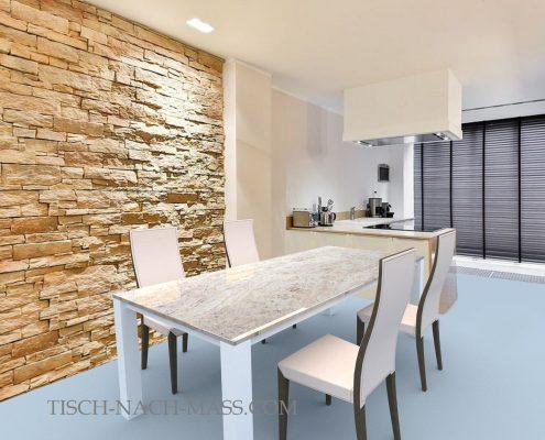 Esstisch mit Granit