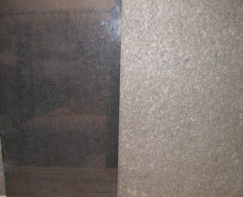 Granittische oberflächen
