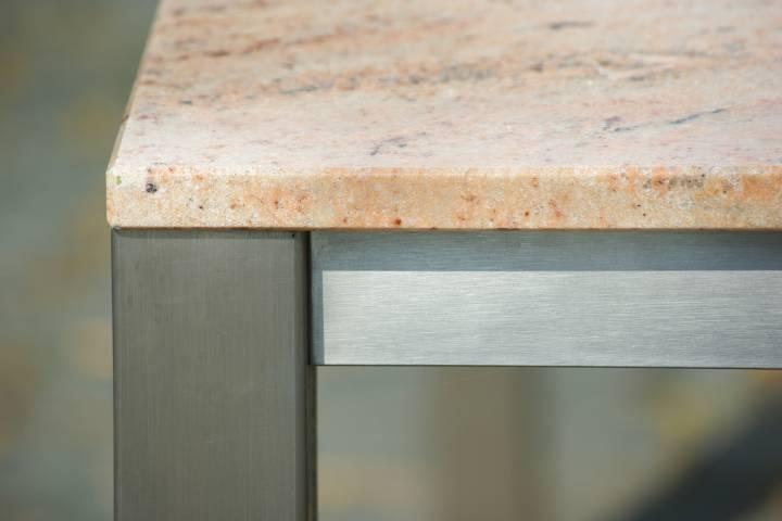 Esstische Granit - Modell Caicos in modernem Design