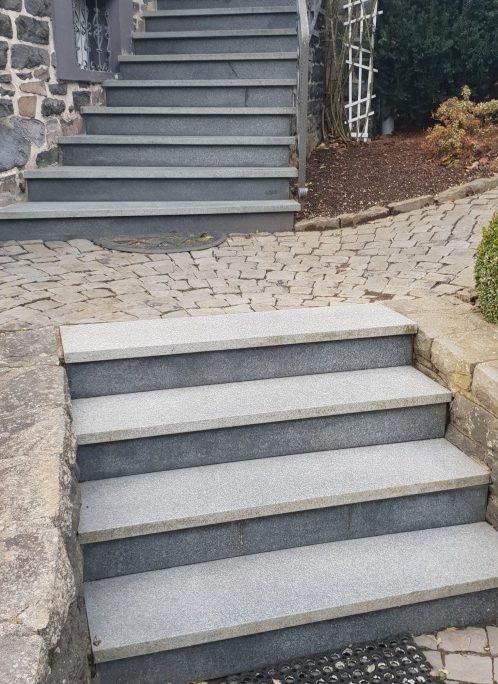 Granit Treppen - Aussentreppe