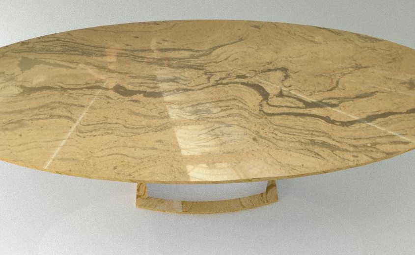 Esstisch modern - oval