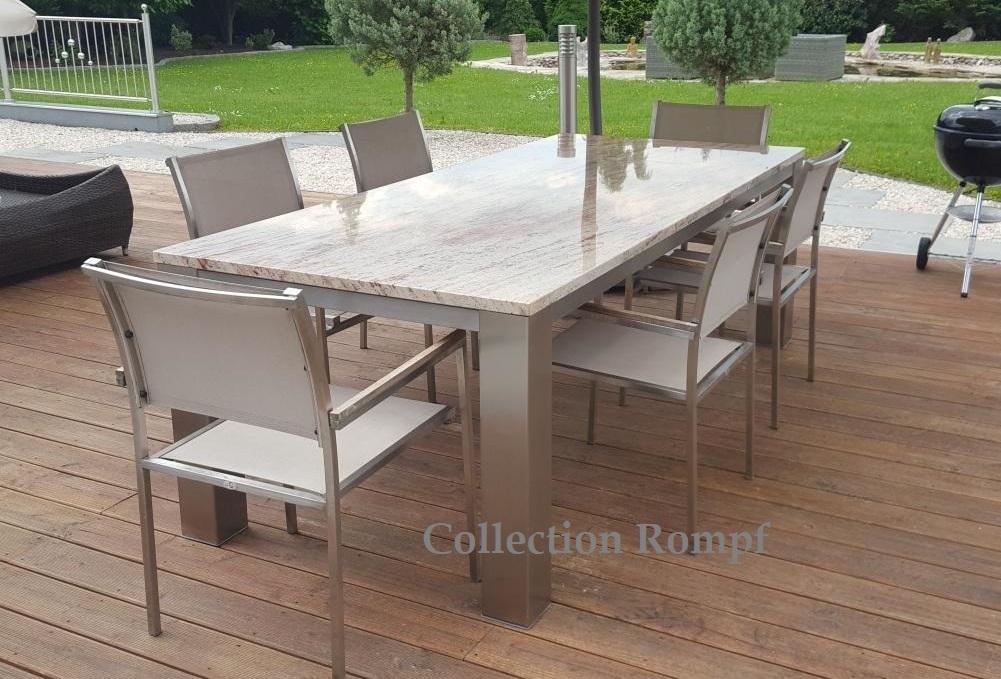 Granit Gartentische Jetzt Online Bestellen Natursteindesign Rompf