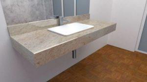 Granit und Marmorwaschtische