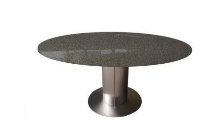 runder granittisch esstisch