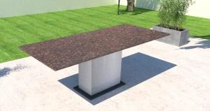Granit Gartentisch