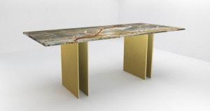 Moderne esstische Tischplatten