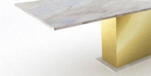 Tischgestell Gold