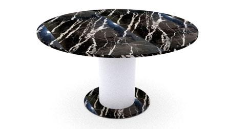 Marmortische - Runde Tische