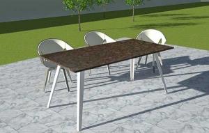 Gartentisch modern