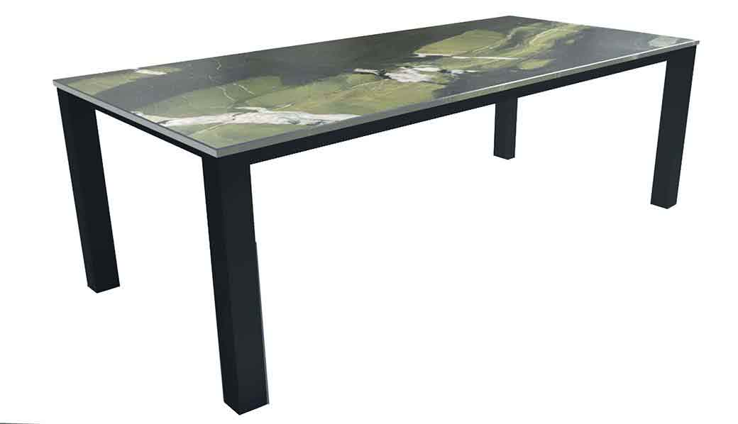 Esstisch modern mit Granit Avocatus