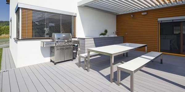 Granit Gartenmöbel Set